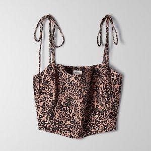 Aritzia Wilfred Penelope camisole - Leopard